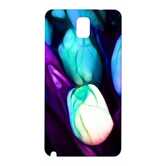 Abstract Purple Tulips Samsung Galaxy Note 3 N9005 Hardshell Back Case by bloomingvinedesign
