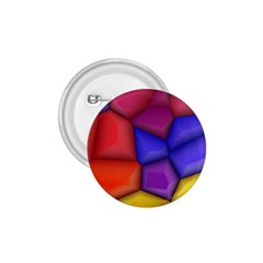 3d Colorful Shapes 1 75  Button by LalyLauraFLM