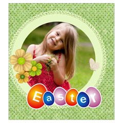 Easter By Easter   Drawstring Pouch (large)   Xqgn00r3nd3v   Www Artscow Com Front
