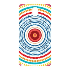 Colorful Round Kaleidoscope Samsung Galaxy Note 3 N9005 Hardshell Back Case by LalyLauraFLM
