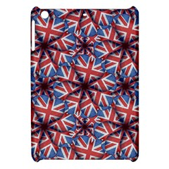 Heart Shaped England Flag Pattern Design Apple Ipad Mini Hardshell Case by dflcprints