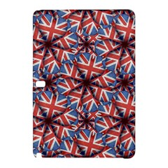 Heart Shaped England Flag Pattern Design Samsung Galaxy Tab Pro 10 1 Hardshell Case by dflcprints