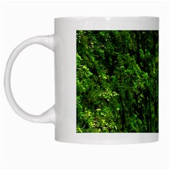 Akaka Falls White Coffee Mug by bloomingvinedesign