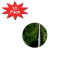Akaka Falls 1  Mini Button (10 Pack) by bloomingvinedesign