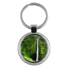 Akaka Falls Key Chain (Round) by bloomingvinedesign