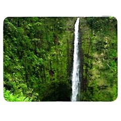 Akaka Falls Samsung Galaxy Tab 7  P1000 Flip Case by bloomingvinedesign
