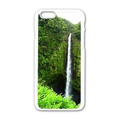 Akaka Falls Apple Iphone 6 White Enamel Case by bloomingvinedesign