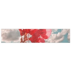 Flowers In The Sky Flano Scarf (small) by dflcprintsclothing