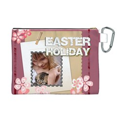 Easter By Joely   Canvas Cosmetic Bag (xl)   Ndvez3b9gi3c   Www Artscow Com Back