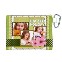Easter By Joely   Canvas Cosmetic Bag (xl)   Je2niay3nv0k   Www Artscow Com Back
