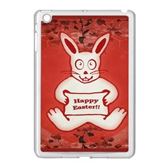 Cute Bunny Happy Easter Drawing Illustration Design Apple Ipad Mini Case (white) by dflcprints