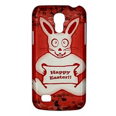 Cute Bunny Happy Easter Drawing Illustration Design Samsung Galaxy S4 Mini (gt I9190) Hardshell Case  by dflcprints