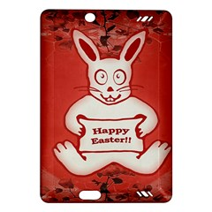 Cute Bunny Happy Easter Drawing Illustration Design Kindle Fire Hd (2013) Hardshell Case by dflcprints