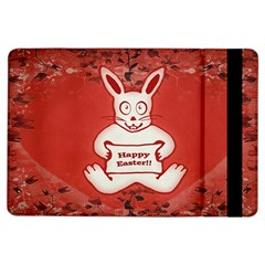 Cute Bunny Happy Easter Drawing Illustration Design Apple Ipad Air Flip Case by dflcprints