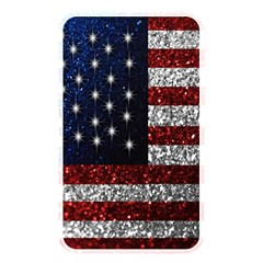 American Flag in Glitter Photograph Memory Card Reader (Rectangular) by bloomingvinedesign