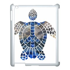 Peace Turtle Apple Ipad 3/4 Case (white) by oddzodd