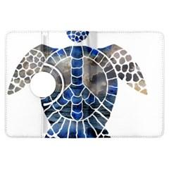Peace Turtle Kindle Fire Hdx Flip 360 Case by oddzodd