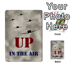 Up In The Air Extra By Lour   Playing Cards 54 Designs   Yorzkzj0q91z   Www Artscow Com Back