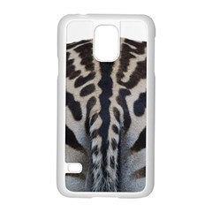 Zebra Butt Samsung Galaxy S5 Case (white) by Curioddities