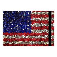 American Flag Mosaic Samsung Galaxy Tab Pro 10 1  Flip Case by bloomingvinedesign