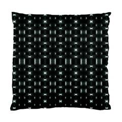 Futuristic Dark Hexagonal Grid Pattern Design Cushion Case (single Sided)  by dflcprints
