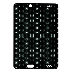 Futuristic Dark Hexagonal Grid Pattern Design Kindle Fire Hd (2013) Hardshell Case by dflcprints