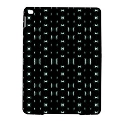 Futuristic Dark Hexagonal Grid Pattern Design Apple Ipad Air 2 Hardshell Case by dflcprints