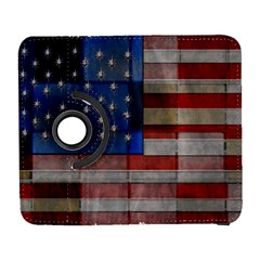 American Flag Quilt Samsung Galaxy S  Iii Flip 360 Case by bloomingvinedesign