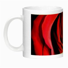 An Open Rose Glow In The Dark Mug by bloomingvinedesign