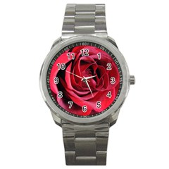 An Open Rose Sport Metal Watch by bloomingvinedesign