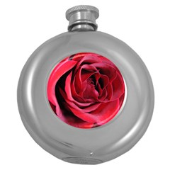 An Open Rose Hip Flask (round) by bloomingvinedesign