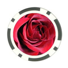 An Open Rose Poker Chip (10 Pack) by bloomingvinedesign