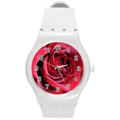 An Open Rose Plastic Sport Watch (medium) by bloomingvinedesign
