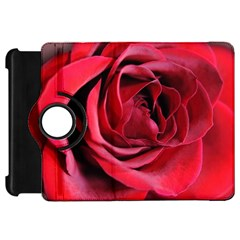 An Open Rose Kindle Fire Hd Flip 360 Case by bloomingvinedesign