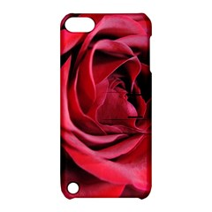 An Open Rose Apple Ipod Touch 5 Hardshell Case With Stand by bloomingvinedesign