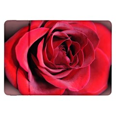 An Open Rose Samsung Galaxy Tab 8 9  P7300 Flip Case by bloomingvinedesign