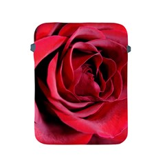 An Open Rose Apple iPad Protective Sleeve by bloomingvinedesign