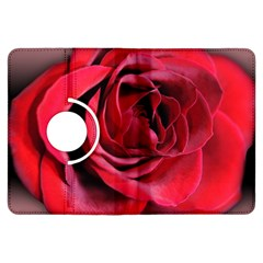 An Open Rose Kindle Fire Hdx Flip 360 Case by bloomingvinedesign