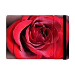 An Open Rose Apple Ipad Mini 2 Flip Case by bloomingvinedesign