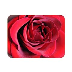 An Open Rose Double Sided Flano Blanket (mini) by bloomingvinedesign