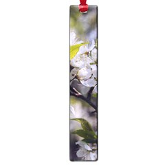 Apple Blossoms Large Bookmark by bloomingvinedesign