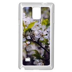 Apple Blossoms Samsung Galaxy Note 4 Case (white) by bloomingvinedesign