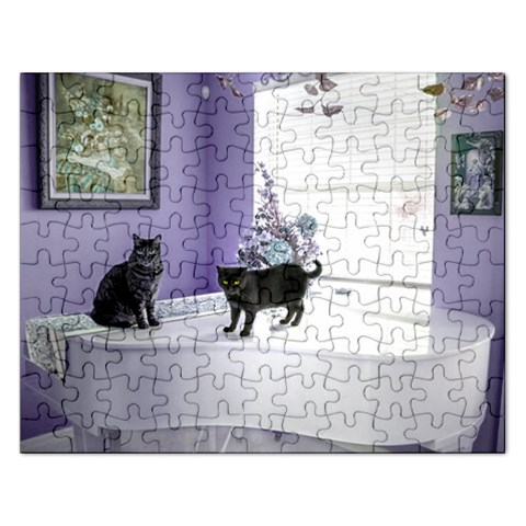 Puzzel By Pamela Sue Goforth   Jigsaw Puzzle (rectangular)   3smxwl35ucp7   Www Artscow Com Front