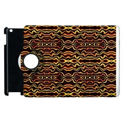 Tribal Art Abstract Pattern Apple iPad 2 Flip 360 Case by dflcprints