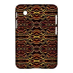 Tribal Art Abstract Pattern Samsung Galaxy Tab 2 (7 ) P3100 Hardshell Case  by dflcprints
