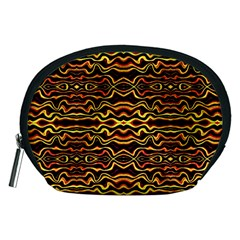 Tribal Art Abstract Pattern Accessory Pouch (medium) by dflcprints