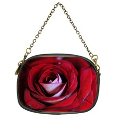 Red Rose Center Chain Purse (one Side) by bloomingvinedesign