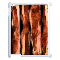Bacon Apple Ipad 2 Case (white) by bloomingvinedesign