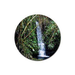 Bamboo Waterfall Drink Coasters 4 Pack (round) by bloomingvinedesign