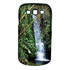 Bamboo waterfall Samsung Galaxy S III Classic Hardshell Case (PC+Silicone) by bloomingvinedesign
